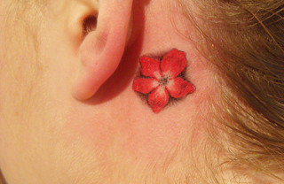 45 Tattoos Behind Ear for Endless Beauty and Cuteness