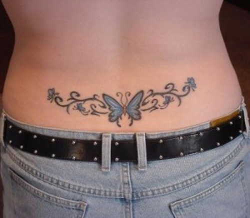 50 Vivacious Lower Back Tattoos for Women