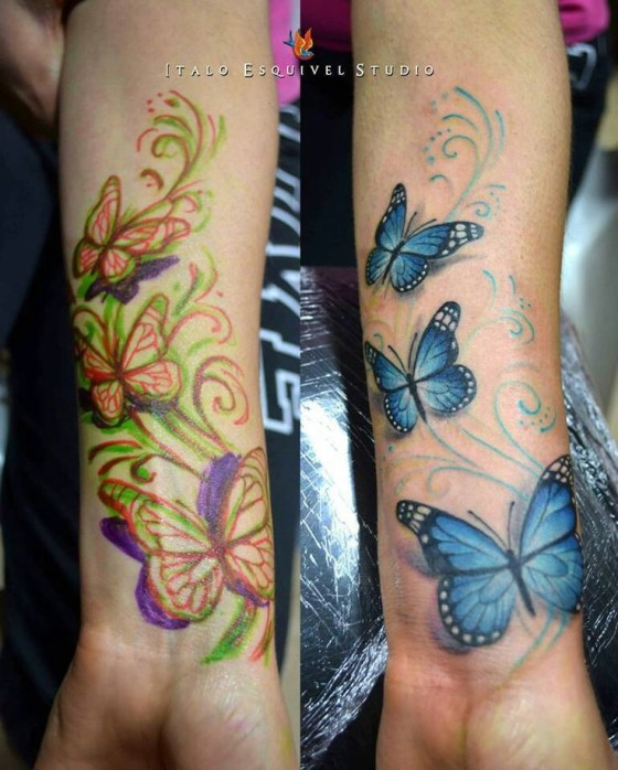7e564a9df 50 Cover Up Tattoos That Will Stun You Instantly