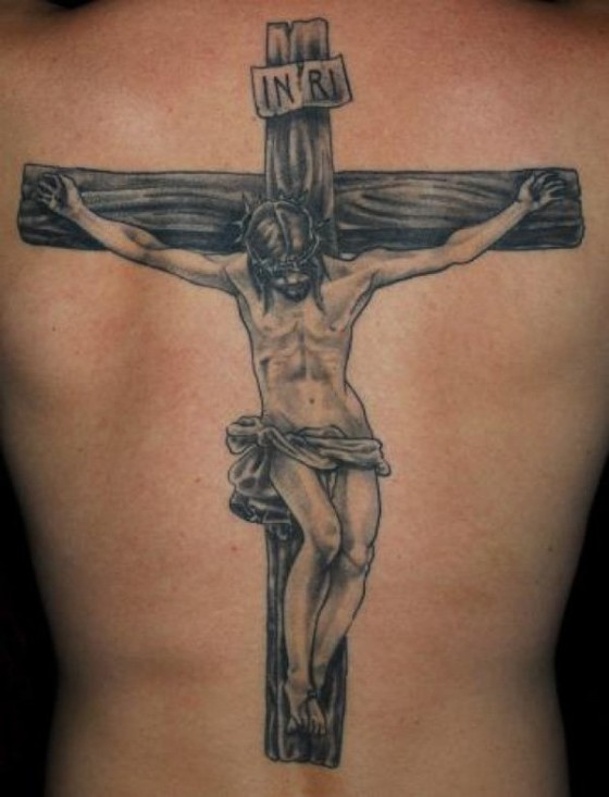 Chirst Cross Tattoo Image Source Cuded
