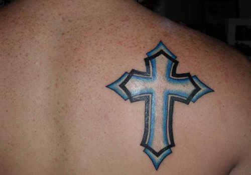 dacedaf0cb685 55 Hottest Cross Tattoo Ideas and Creative Designs