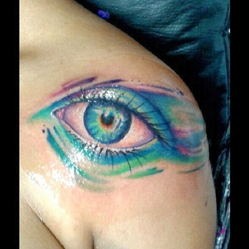 55 beautiful eye tattoo examples that will make you surprised for Tattoo your eyes