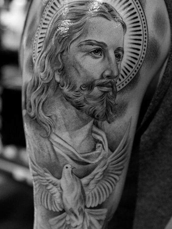 80fd07567 50 Jesus Tattoos for the Faith, Love, Sacrifices and Strength