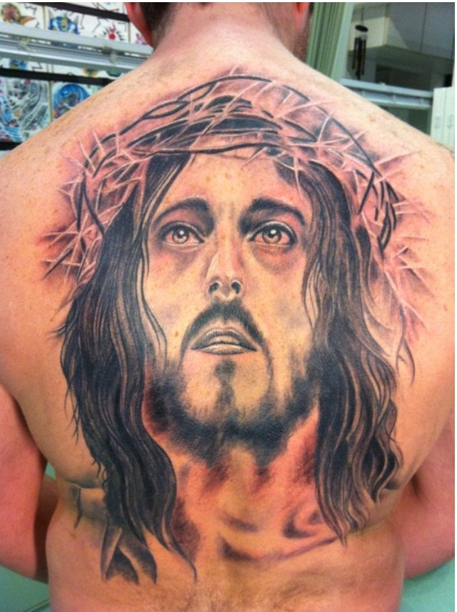 50 jesus tattoos for the faith love sacrifices and strength for Jesus back tattoos
