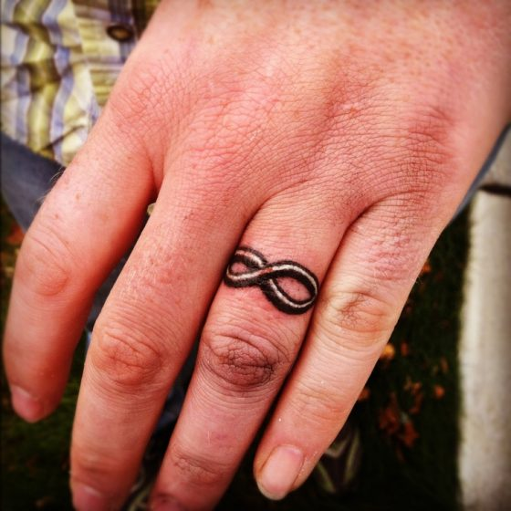 Make a rocking couple by astonishing ring tattoos for Celtic ring tattoos