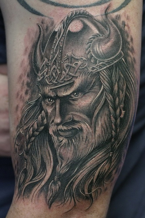 db2b5f265 Awesome viking tattoos. Image Source: Tatring