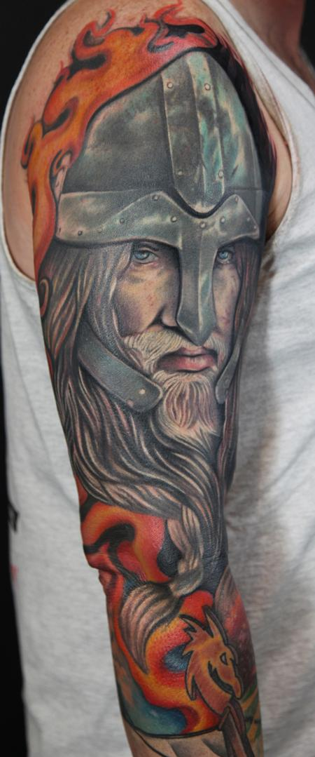 587898050 Lower Arm Warrior Viking Tattoos. Image Source: Tattoo2016