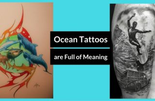 45 Ocean Tattoos Designs That Are Full of Meaning