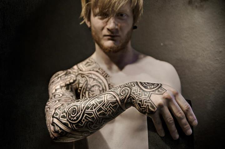 become stylish with amazing viking tattoos. Black Bedroom Furniture Sets. Home Design Ideas