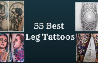 55 Best Leg Tattoos
