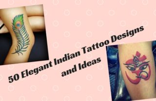 Elegant Indian Tattoo Designs and Ideas